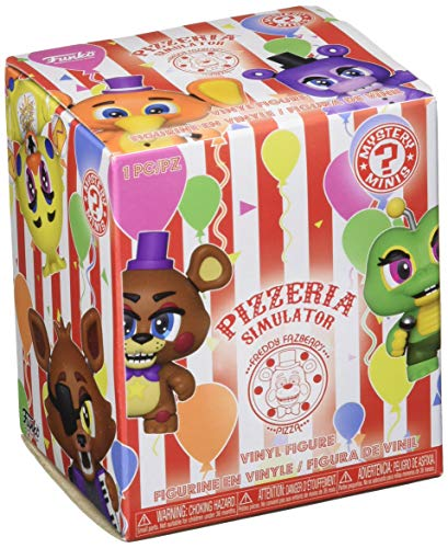 Funko 32148 Mystery Mini Blind Box: Spiele: FNAF 6: Pizzeria Simulator: PDQ (CDU 12), Multi (Blinds Mini)