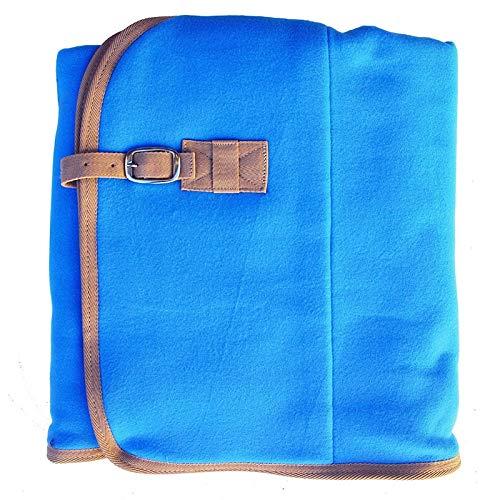 Gr Abschwitzdecke, Fleecedecke 165 cm Azur/blau Kaltblut