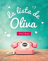 La lista de Oliva par Andrea Longarela