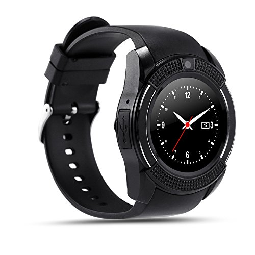 Micromax Canvas Power A96 COMPATIBLE ZTE V8+ Bluetooth Smartwatch With Sim & Tf Card Support With Apps Like Facebook And Whatsapp Touch Screen Multilanguage Android/Ios Mobile Phone Wrist Watch Phone With Activity Tracker And Fitness Band By VELL- TECH  available at amazon for Rs.1999