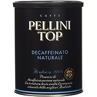 Pellini Top Arabica 100%, Decaffeinato Naturale - 250 gr