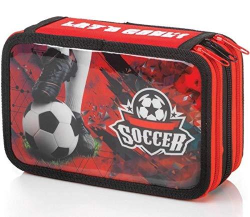 Balmar 2000-balmar 2000 3 zip goal rosso/nero astucci completi (doppi e tripli), multicolore, 8010151011284
