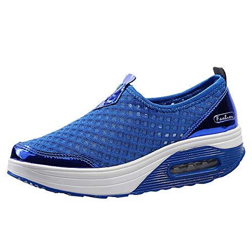 UFACE Frauen Outdoor Mesh Casual Sportschuhe Dick-Soled Soft Bottom Schuhe ()