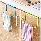 QRSLHYA Door Tea Towel Rack Bar Holder