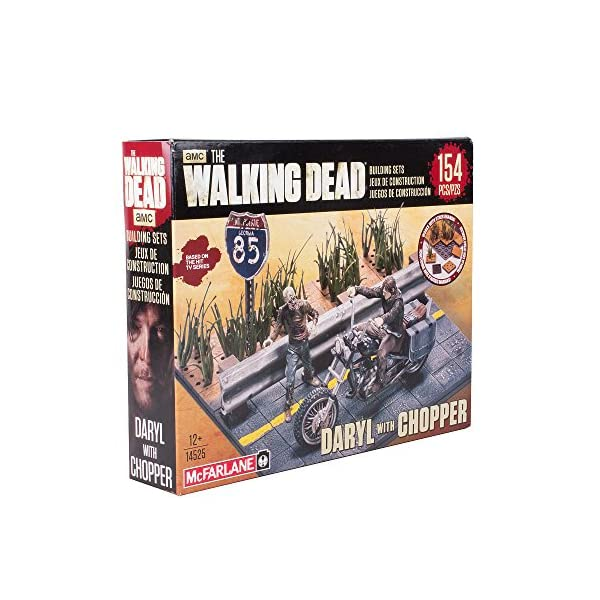 Walking Dead Tv Building Set Daryl Dixon 2