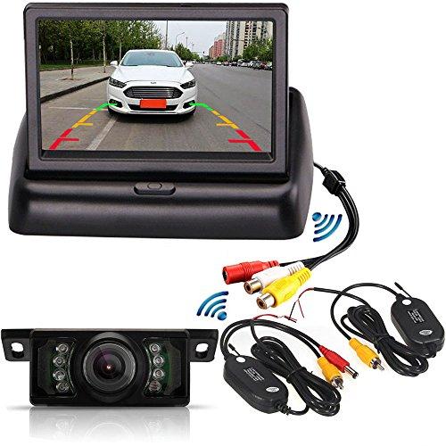 Système de caméra de recul sans fil 10,9cm TFT LCD...