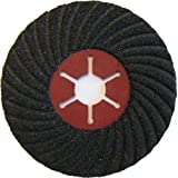 Norton Disque semi flexible CP flex carbure silicium matériaux 127 x 22 mm Grain 36