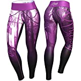 Anarchy Apparel Leggings, Mist, Fitness Gym Aerobic Hosen Pants Compression
