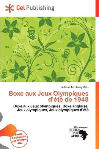 Boxe Aux Jeux Olympiques D' T de 1948
