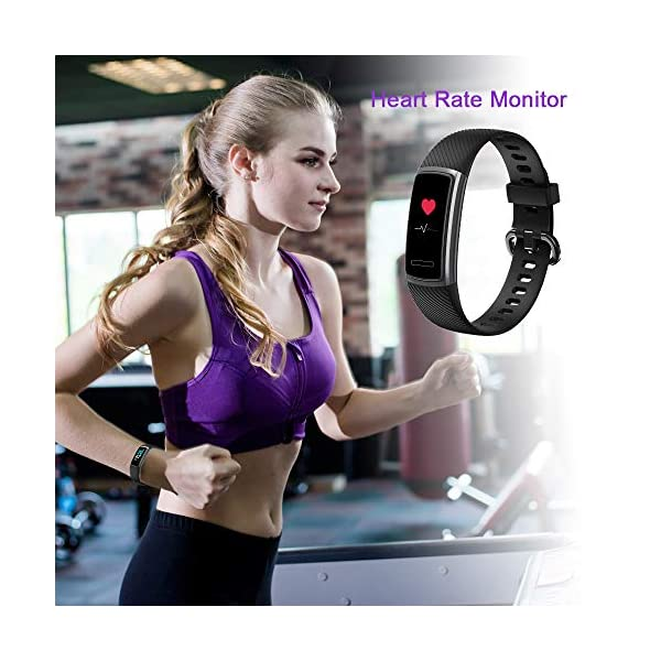 Huyeta Pulsera Actividad Inteligente Fitness Tracker Podómetro Monitor de Sueño Contador de Calorías Pulsera Inteligente… 3