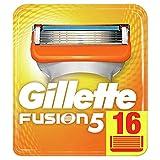 Gillette Fusion Yedek Tıraş Bıçağı 16'lı Karton Paket