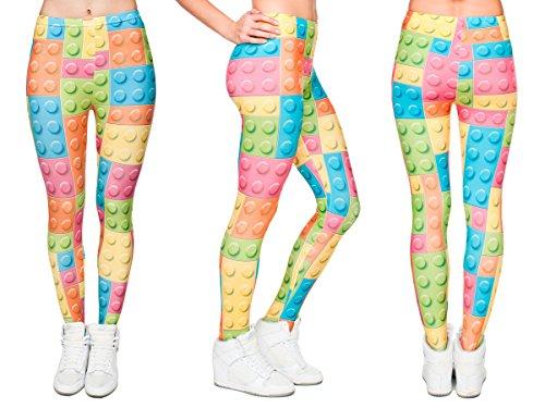 88a2fdbd0ea1 Leggings da Donna | Taglia Unica | Diversi Colori e Disegni | Aderenti |  Sportivi