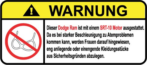 dodge-ram-srt-10-motor-german-lustig-warnung-aufkleber-decal-sticker