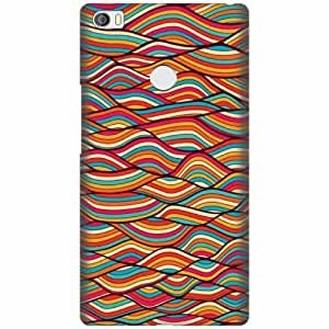 Xiaomi Mi Max Plastic Back Cover - Multicolor Designer Cases Cover By Printland