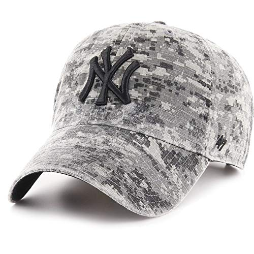 47 Brand Ripstop Cap - Phalanx NY Yankees Grey digital camo - Cap Gi Camo