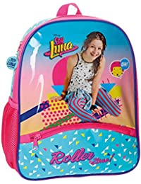 Disney Soy Luna Roller Zone Mochila Infantil, 33 cm, 9.8 Litros, Multicolor