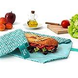 Sandwich wrap BocnRoll Tiles (Grün)