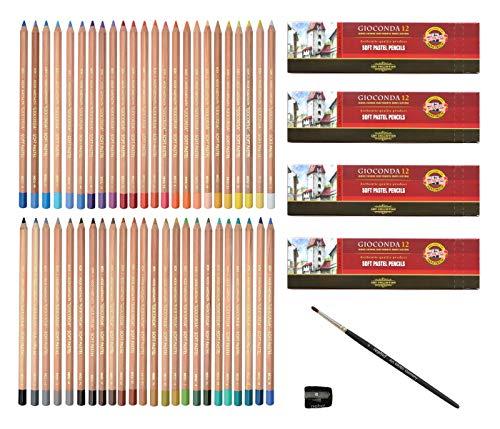 Pastellstifte, 48 Farbtöne