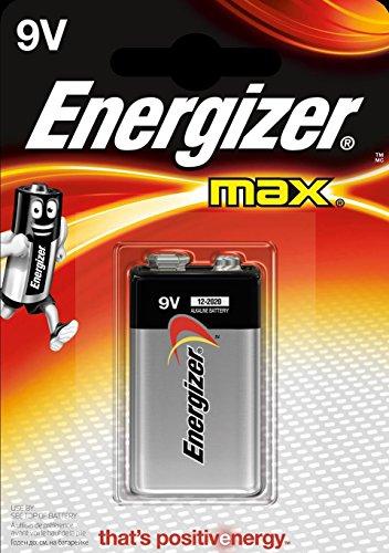 Energizer Original Batterie Max E-Block (9 Volt, 2x 1-er Pack) Energizer Max 9v Batterien