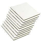 Lienzos Levante 0611366001 - Juego de 10 tablillas enteladas de tamaño 12 x 9 cm, 000F, con imprimación acrílica