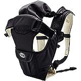 Lifewit Porte-bébé Multifonctionnel avec 5 Positions Porter Bébé Tissu Respirant pour 3,6-12kg - Noir