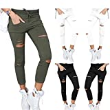 Photo de Live It Style It Femmes élastique délavé déchiré Coupe Slim Leggings Maigre Pantalon Jeans Pantalon Dames par Live It Style It