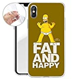Homer Serie silicone SIMPSONS iPhone x - GRASSO E FELICE, Iphone X