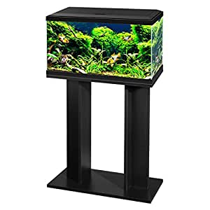 Aquarium fish tank with stand filter led lighting 60cm for Amazon fish tank filter