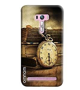Omnam Crow Lying On Lantern In Horror Effect Designer Back Cover Case For Asus Zenfone Selfie
