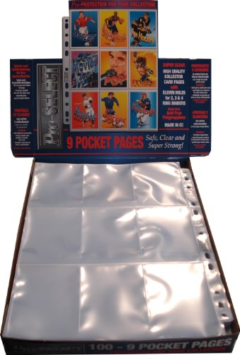 9 Pocket Pages (100 Pages)