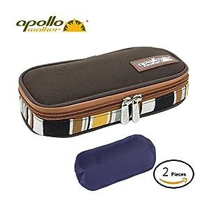 Apollo Walker Diabetic Organizer Medizinische Kühler 2 Eisbeutel Temperatur kühler Reisetasche Hält Diabetiker Medikamente Kühl und Isoliert