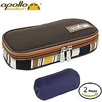 Apollo Walker Diabetes Organizer Medical Cooler Refrigerador de temperatura más fresco Bolsa de viaje Manteniendo el medicamento para la diabetes refrigerado y aislado (Brown)