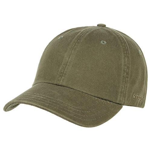 stetson-rector-baseballcap-mit-uv-schutz-aus-baumwolle-khaki