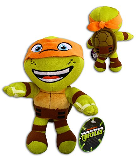 Ninja Teenage Mutant Turtle Orange (Michelangelo 30cm Super Soft Plüsch Schildkröten Orange TMNT Comicserie Teenage Mutant Ninja Turtles Turtler Spielzeug Figur)