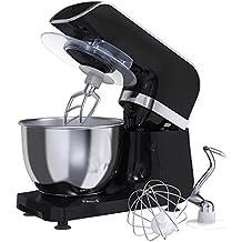 Amasadora Batidora MLITER, Robot de Cocina, 800W, Bol de 4.0L, Gancho