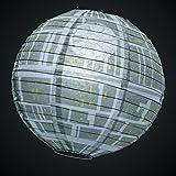 Star Wars Estrella de la Muerte Lámpara Sombrilla de Papel para Lámparas de Techo 29,5x30