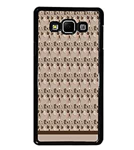 PrintDhaba Pattern D-1537 Back Case Cover for SAMSUNG GALAXY A7 (Multi-Coloured)