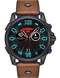 Diesel Smartwatch Pantalla táctil para Hombre de Connected con Correa en Piel DZT2009