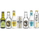Tonic Water - Probierset 7 Sorten Erfrischungsgetränk inkl. Pfand - 7x0,2l/1St