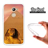 Becool® - Cover Gel Flexible Vodafone Smart N8, TPU Case made out of the best Silicone, protects and adapts flawlessly to your Smartphone, together with our exclusive designs. Egyptian pyramid.