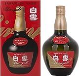 Shirayuki Japanese Sake mit Geschenkverpackung (1 x 0.75 l)