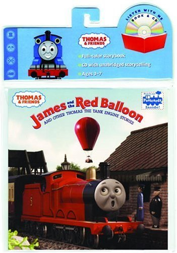 James and the Red Balloon: And Other Thomas the Tank Engine Stories [With CD] (Thomas & Friends) by Alec Baldwin (Narrator), David Mitton (Photographer), Terry Palone (Photographer), (12-Jul-2005) Paperback