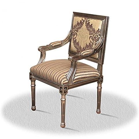 Chaise baroque Louis XV rococo de style antique