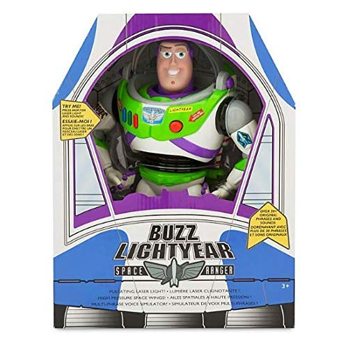 Buzz Lightyear Talking Action Figure - 12'' Toy Story 4 Bonnie on Foot