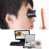 Emperor of Gadgets - Iriscopio, 5.0MP, alta resolución, CCD, USB, incluye 30 lentes de iris y...
