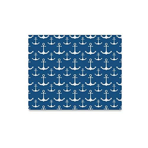 lerei Blau Weiß Nautische Anker Drucke Auf Leinwand Das Bild Landschaft Bilder Öl Für Home Moderne Dekoration Druck Dekor Für Wohnzimmer ()