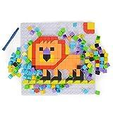 NextX DIY Bausteine Spielzeug 3D Rahmen puzzle Kinderspielzeug ab 3 Jahren (Tier) Weihnachtsgeschenk