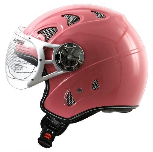in Pink Rosa ECE 2205 Größe: (M 57/58cm) (Moped-roller-pink)
