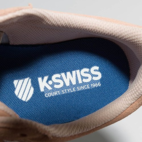 K-Swiss Court Cheswick Sde, Scarpe da Ginnastica Basse Donna Rosa chiaro