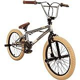 20' BMX deTOX Freestyle Kinder Neu Anfänger ab 130 cm, 7 J., Farbe:grau